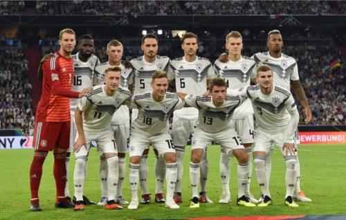 Die deutsche Fußballnationalmannschaft in der UEFA Nations League gegen Weltmeister Frankreicham 6.September 2018 in München AFP PHOTO / Christof STACHE