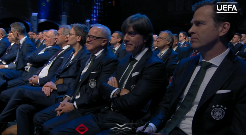 Bundestrainer Löw bei der Nationen Liga 2020 Auslosung am 3.März 2020.